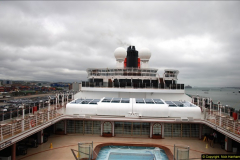 2015-05-03 Three Queens leave Southampton. (32)032