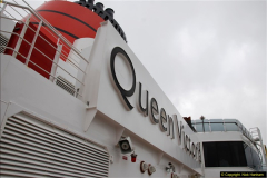 2015-05-03 Three Queens leave Southampton. (45)045