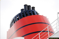 2015-05-03 Three Queens leave Southampton. (47)047