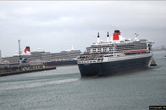 2015-05-03 Three Queens leave Southampton. (98)098