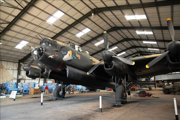 2013-09-27 to 30 The Lincolnshire Aviation Heritage Centre, Just Jane and The Dam Busters.  (39)039