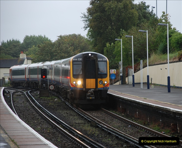 2011-09-06 70013 Oliver Cromwell @ Branksome, Poole, Dorset. (1)101