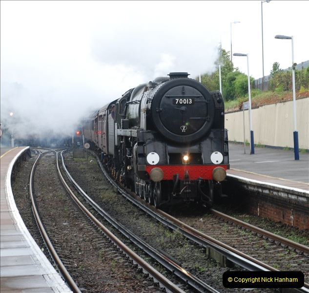 2011-09-06 70013 Oliver Cromwell @ Branksome, Poole, Dorset. (11)111