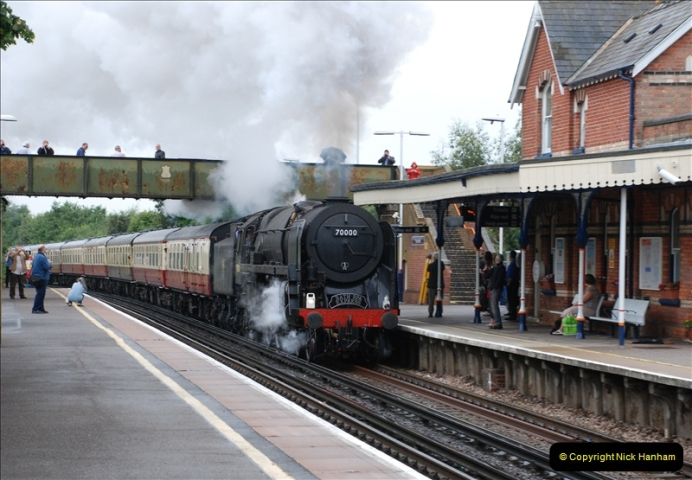 2011-08-17  Bath Spa Express @ Parkstone.  (1)073