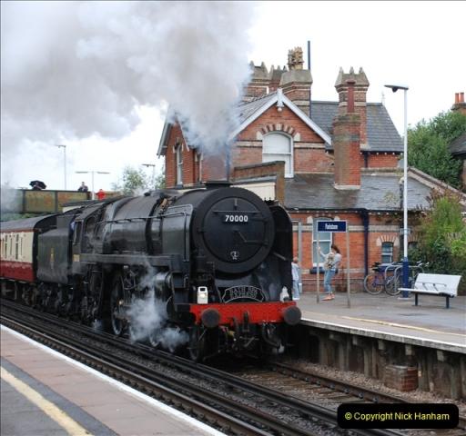 2011-08-17  Bath Spa Express @ Parkstone.  (2)074