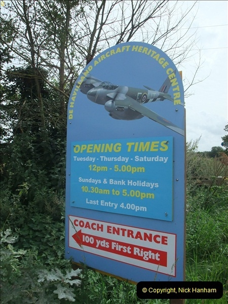 The De Havilland Aircraft Centre 17 August 2012