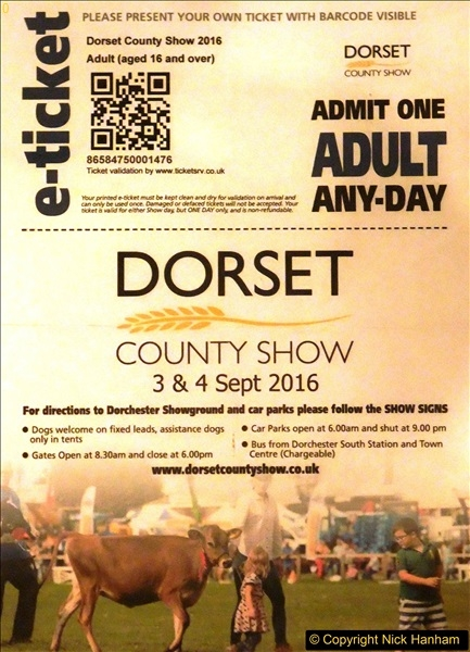 Dorchester Show 04 September 2016