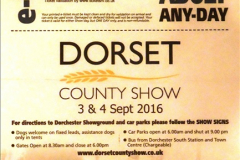 2016-09-04 Dorset County Show 2016, Dorchester, Dorset.  (1)001