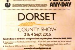 2016-09-04 Dorset County Show 2016, Dorchester, Dorset.  (2)002
