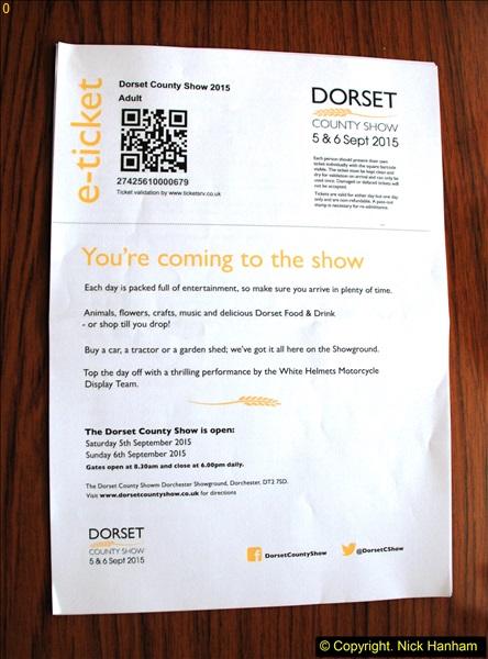 2015-09-06 The Dorset County Show 2015.  (1)001