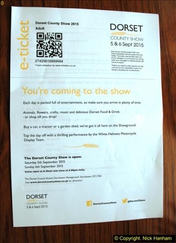 2015-09-06 The Dorset County Show 2015.  (2)002