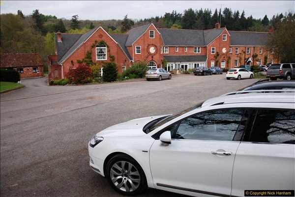 2017-04-19 Our hotel for two nights stay, the Fox & Hounds, Eggisford, Devon.  (2)036
