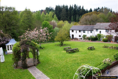 2017-04-19 Our hotel for two nights stay, the Fox & Hounds, Eggisford, Devon.  (21)055