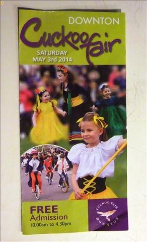 2014-05-03 Downton Cuckoo Fair, Downton, Wiltshire.  (1)001