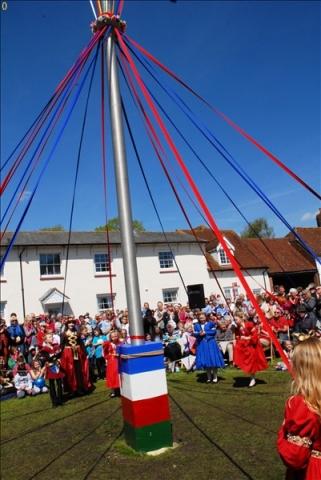 2014-05-03 Downton Cuckoo Fair, Downton, Wiltshire.  (117)117