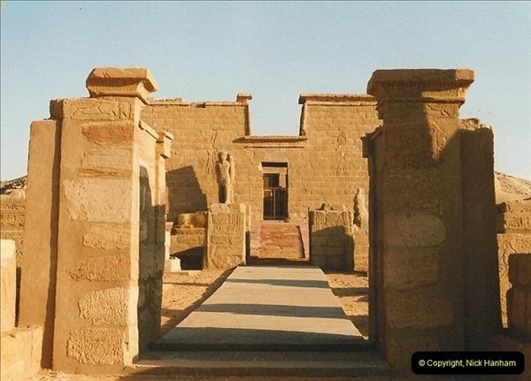 1995-07-19 At Wadi El Seboua on Lake Nasser, Nubia.  (3)022