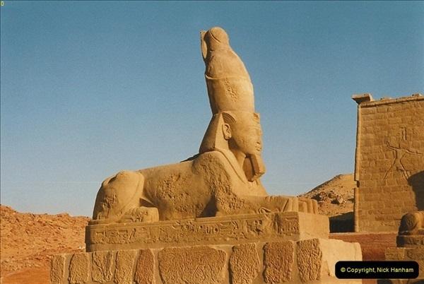 1995-07-19 At Wadi El Seboua on Lake Nasser, Nubia.  (4)023