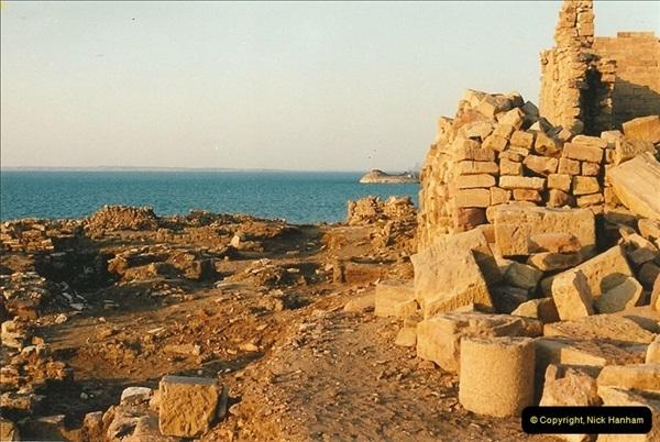 1995-07-19 Kasr Ibrim on Lake Nasser, Nubia.   (8)046