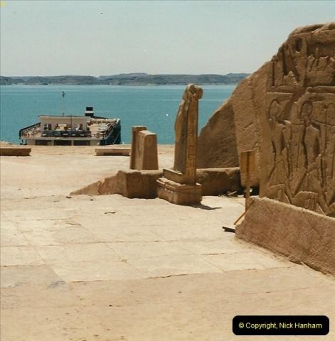 1995-07-20 Abu Simbel, Lake nasser, Nubia.  (29)079