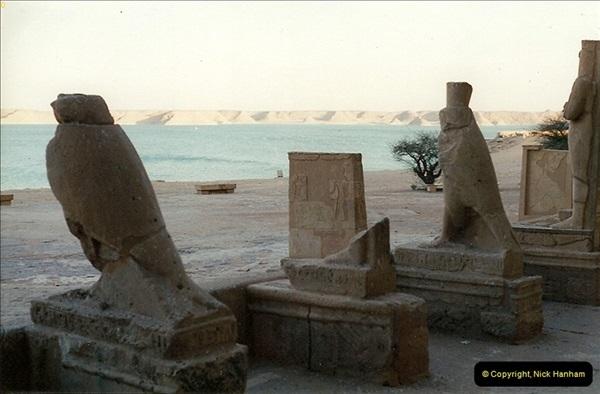 1995-07-20 Abu Simbel, Lake nasser, Nubia.  (31)081