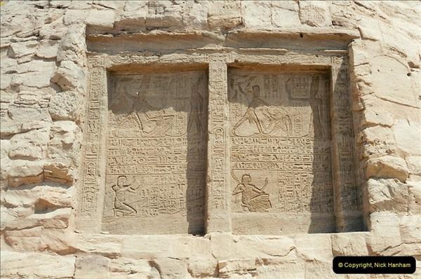 1995-07-20 Abu Simbel, Lake nasser, Nubia.  (33)083