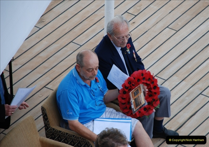 2010-11-04 HMS Welshman Tribute. Torpedoed 01-02-1943 off Tobruk by U617  (1)002