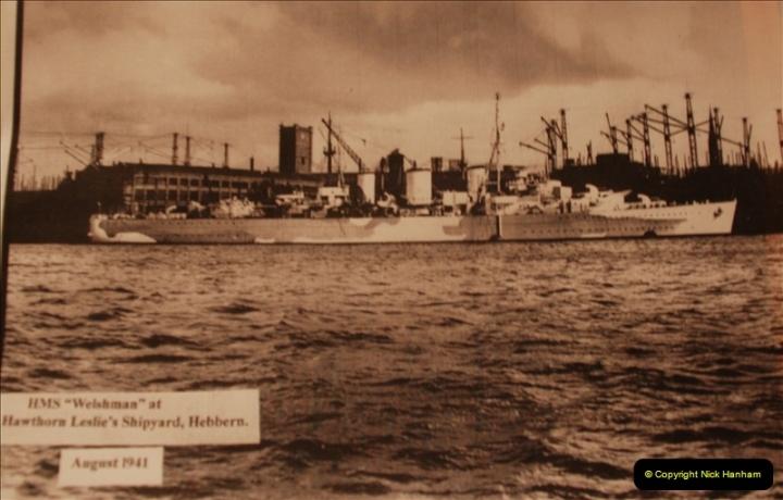 2010-11-04 HMS Welshman Tribute. Torpedoed 01-02-1943 off Tobruk by U617  (16)017