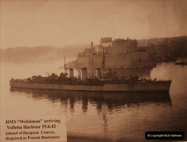 2010-11-04 HMS Welshman Tribute. Torpedoed 01-02-1943 off Tobruk by U617  (18)019
