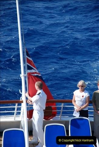 2010-11-04 HMS Welshman Tribute. Torpedoed 01-02-1943 off Tobruk by U617  (8)009