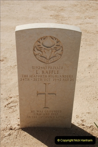 2010-11-05 British Graves at  El Alamein  (20)041