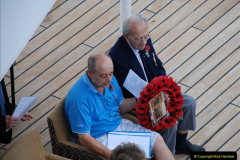 2010-11-04 HMS Welshman Tribute. Torpedoed 01-02-1943 off Tobruk by U617  (1)002