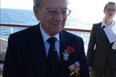 2010-11-04 HMS Welshman Tribute. Torpedoed 01-02-1943 off Tobruk by U617  (12)013