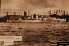 2010-11-04 HMS Welshman Tribute. Torpedoed 01-02-1943 off Tobruk by U617  (16)017