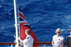 2010-11-04 HMS Welshman Tribute. Torpedoed 01-02-1943 off Tobruk by U617  (8)009