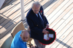 2010-11-04 HMS Welshman Tribute. Torpedoed 01-02-1943 off Tobruk by U617  (9)010