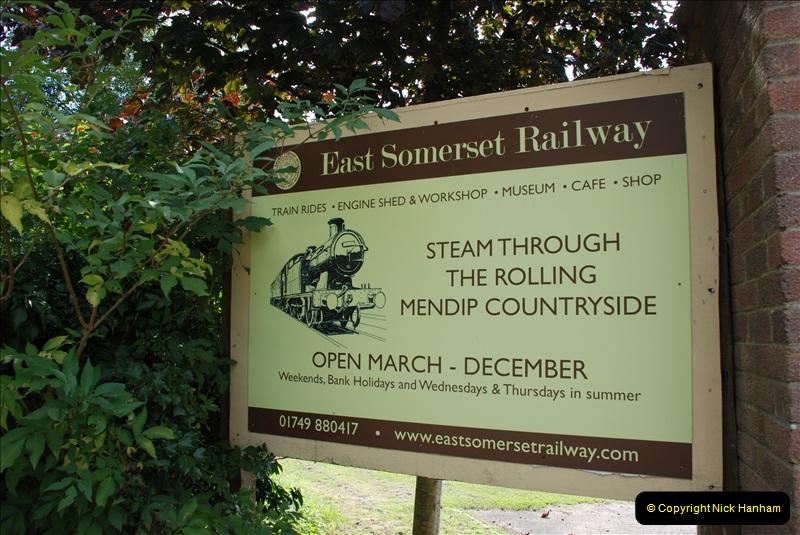 East Somerset Railway 18 September 2010 to  06 September 2012