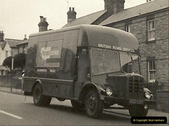 1958 (8) New BRS 'Noddy Van' in  Seaview Road, Poole, Dorset.013
