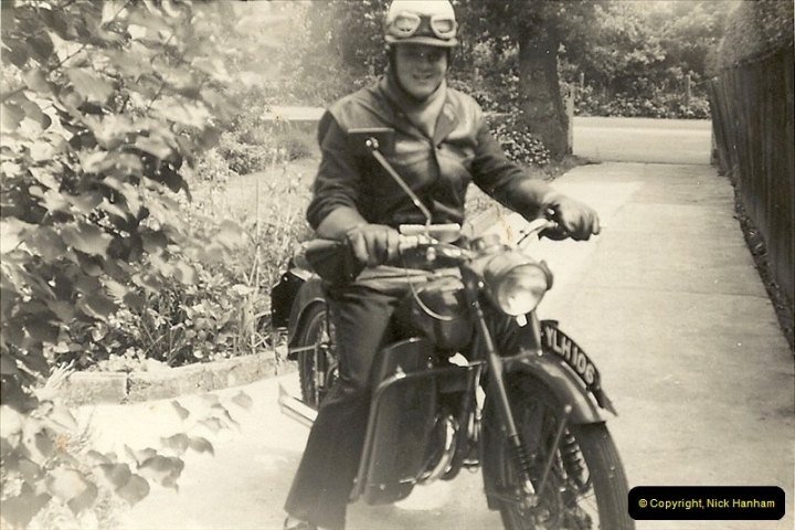 1960. Your Host working as a Telegraph Messenger @ Bournemouth, Dorset. (3)034