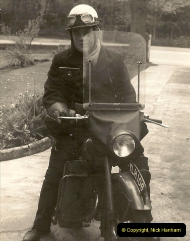 1960. Your Host working as a Telegraph Messenger @ Bournemouth, Dorset. (4)035