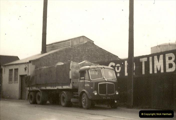 1962 (6) BRS AEC Mandator in West Quay Road, Poole, Dorset.045
