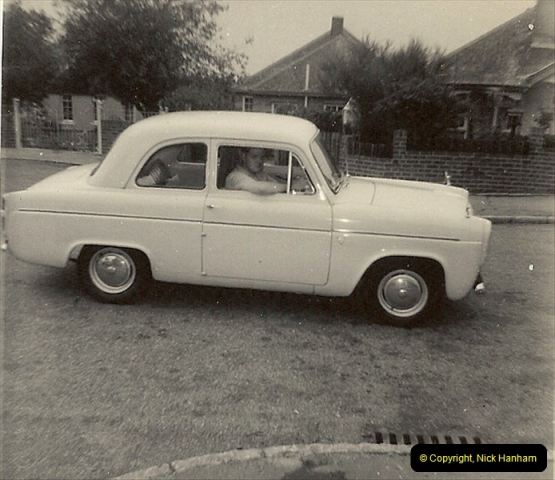 1963 (1) Your Host's first car a Ford Anglia 2852 EV. 050