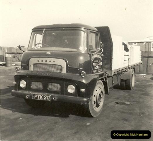 1963 (16) George Curtis Transport yard, Ringwood Road, Parkstone, Poole, Dorset. 065