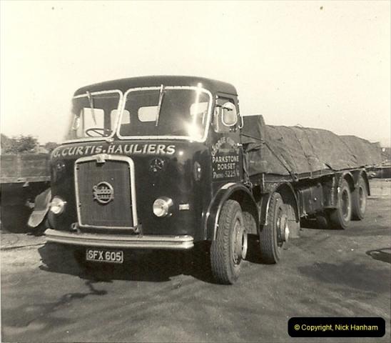 1963 (18) George Curtis Transport yard, Ringwood Road, Parkstone, Poole, Dorset. 067