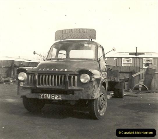 1963 (19) George Curtis Transport yard, Ringwood Road, Parkstone, Poole, Dorset. 068