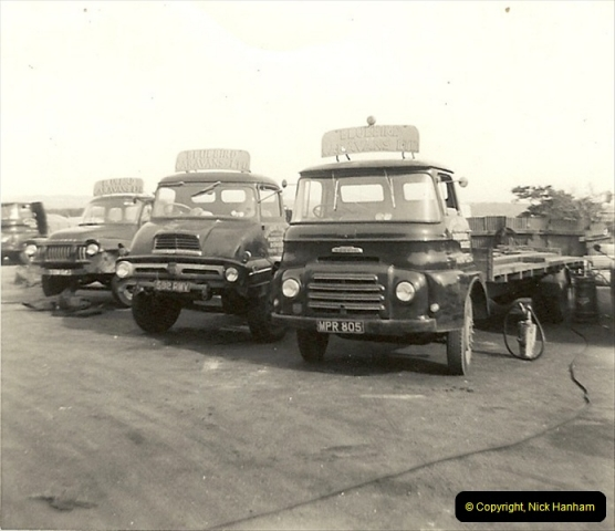1963 (20) George Curtis Transport yard, Ringwood Road, Parkstone, Poole, Dorset. 069