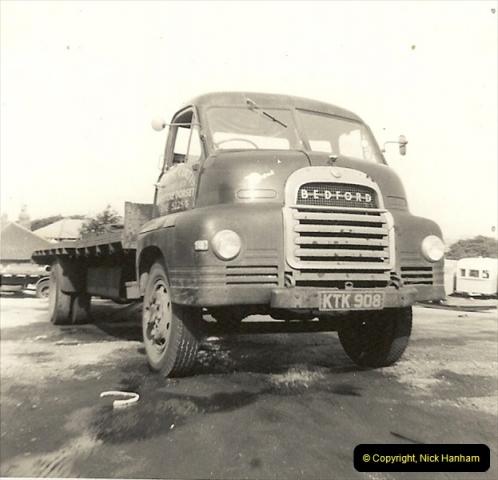 1963 (22) George Curtis Transport yard, Ringwood Road, Parkstone, Poole, Dorset. 071