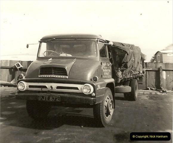 1963 (25) George Curtis Transport yard, Ringwood Road, Parkstone, Poole, Dorset. 074