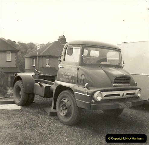 1963 (26) George Curtis Transport yard, Ringwood Road, Parkstone, Poole, Dorset. 075
