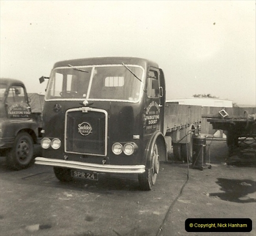 1963 (27) George Curtis Transport yard, Ringwood Road, Parkstone, Poole, Dorset. 076
