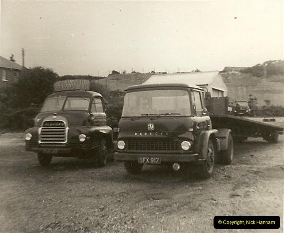 1963 (29) George Curtis Transport yard, Ringwood Road, Parkstone, Poole, Dorset. 078